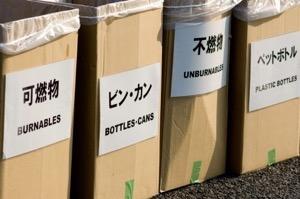 街角のゴミ箱